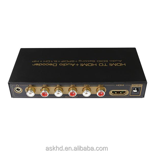 New hdmi to 5.1 analog converter