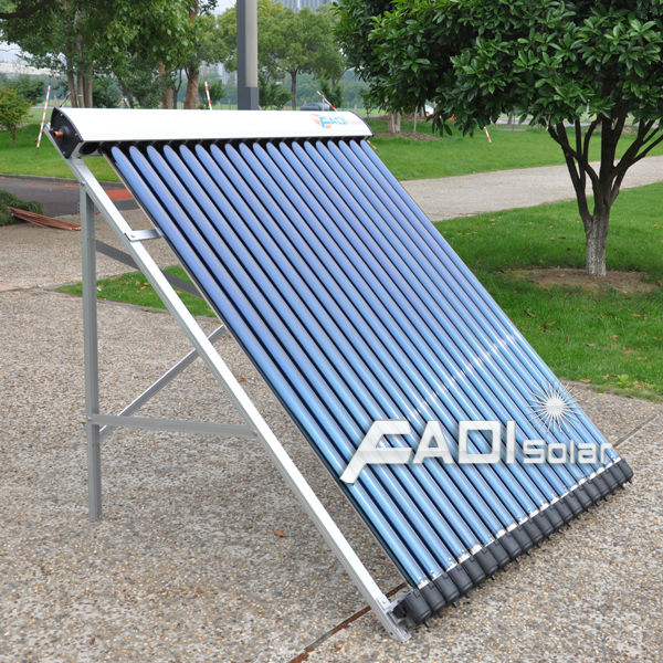 China Famous Brand Fadi Solar Collector (20tube with 24mm diameter condensor)