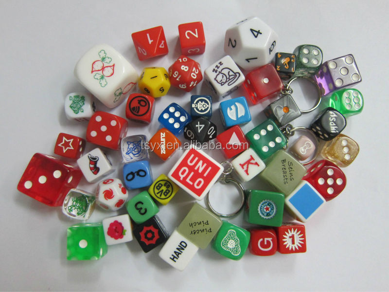 All kinds printing dice