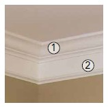 Interior Decoration MDF Crown Moulding