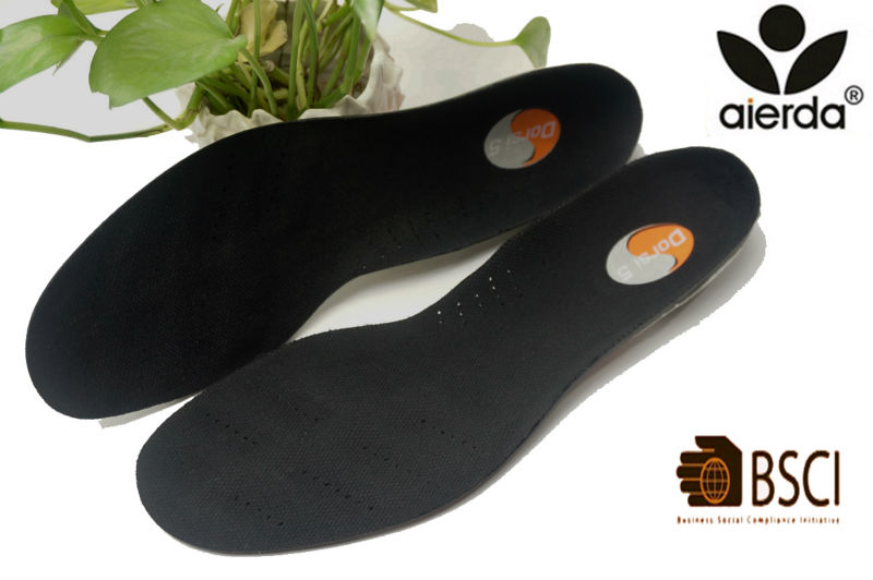 Sport Antibacterial Anti Odor Gel Insoles For Shoes