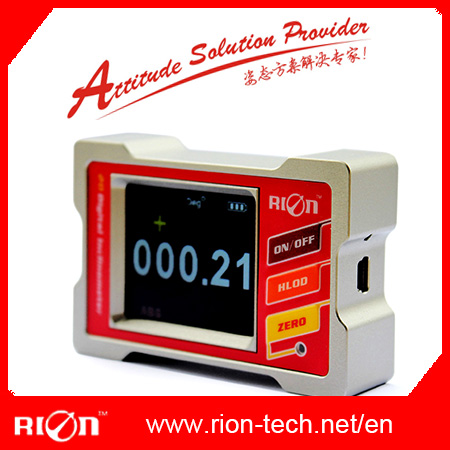 Touch Screen High Precision Digital Inclinometer Supplied by Shenzhen Manufacturer