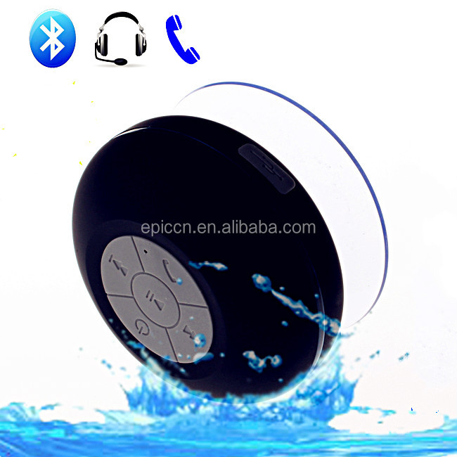 Cheap waterproof Wireless Shower Speaker with PMS logo printing