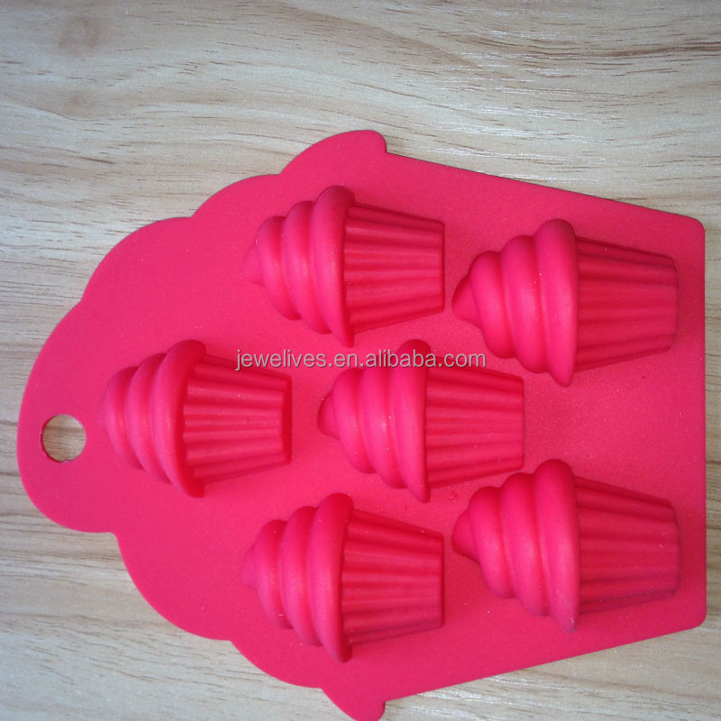 Ice Cream Shaped Silicone Cake Pop Maker