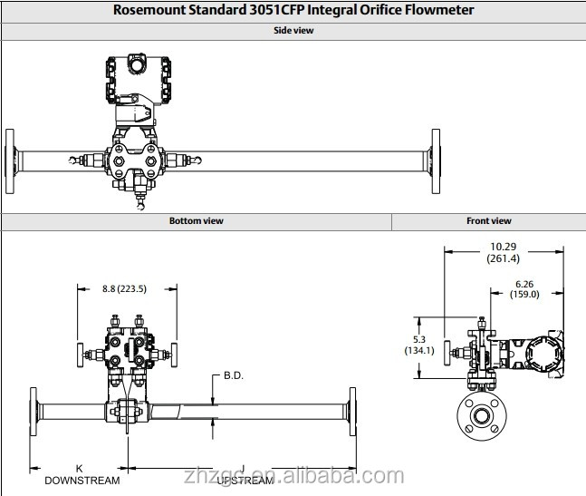 Integral ma orifice flowmeter rosemount cfp buy