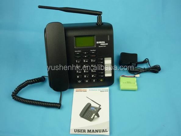 wireless phone cdma 450mhz mp3 voice message FM radio cdma fixed phone ET301-01