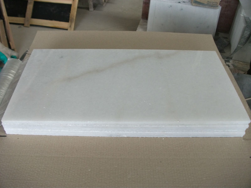 China white marble with yellow veins
