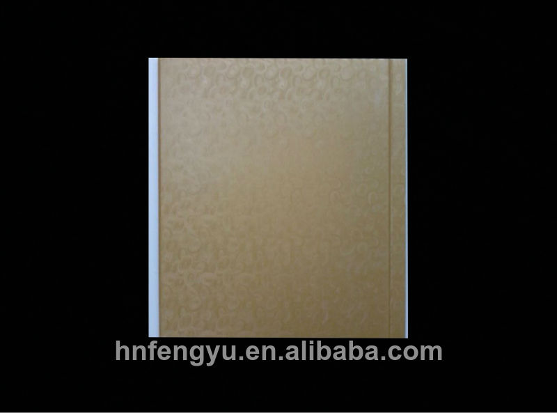 25cm laminated newly designed pvc ceilings panel , pvc ceiling panel china supplier