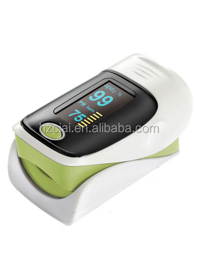 CE approved OLED display SPO2 PR oximeter portable fingertip pulse oximeter