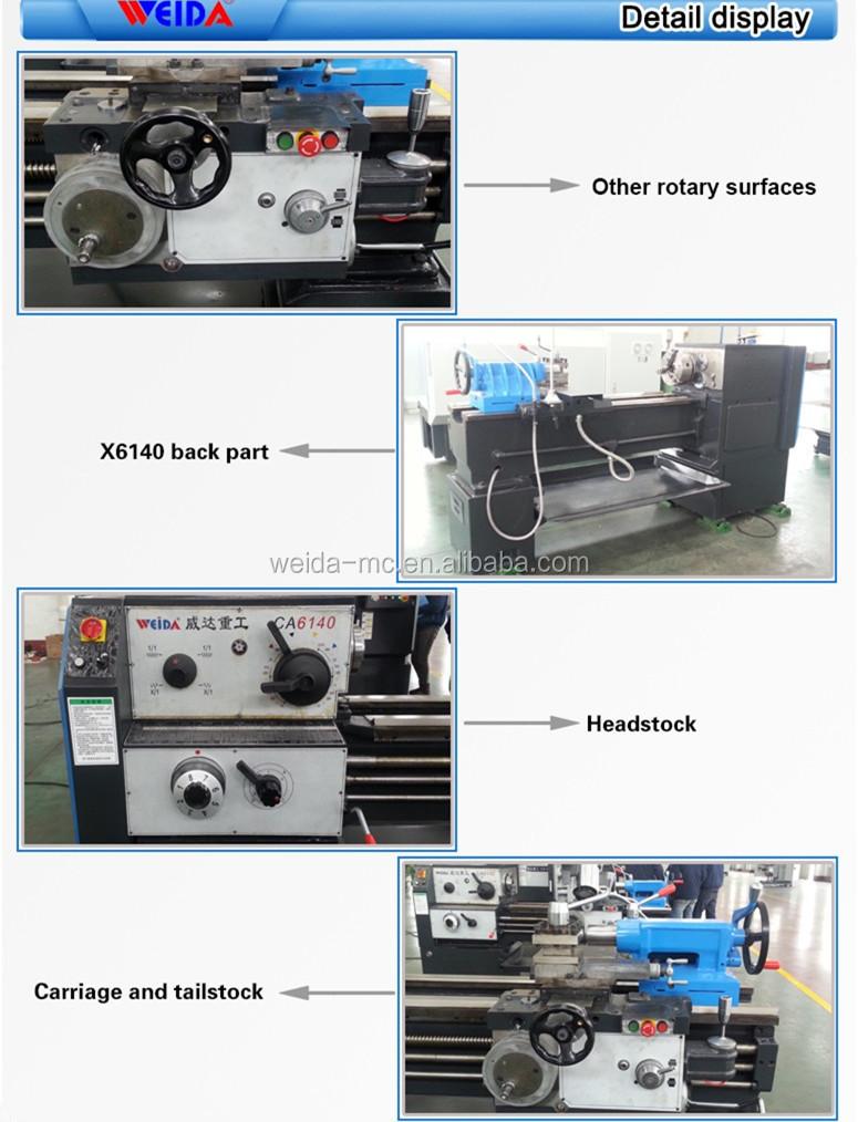horizontal lathe machine