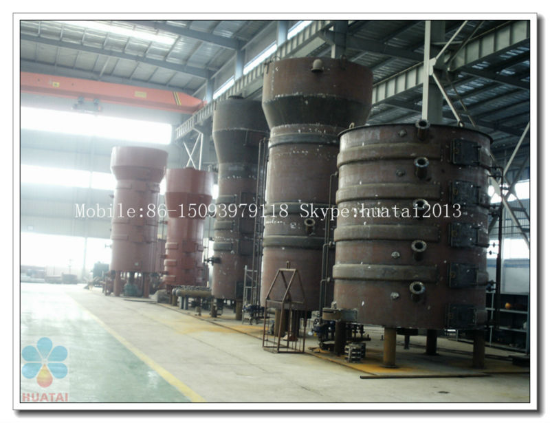 Continuous and automatic soybean oil processing plant in 2015