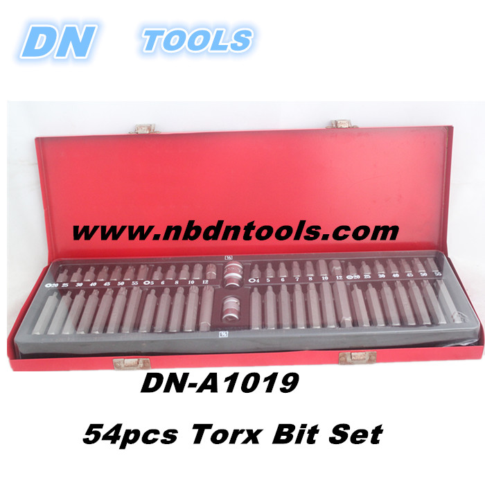 High quality Car Repair Tools TORX STAR SPLINE HEX ALLEN KEY SOCKET BIT SET WITH TOOL STORAGE TRAY