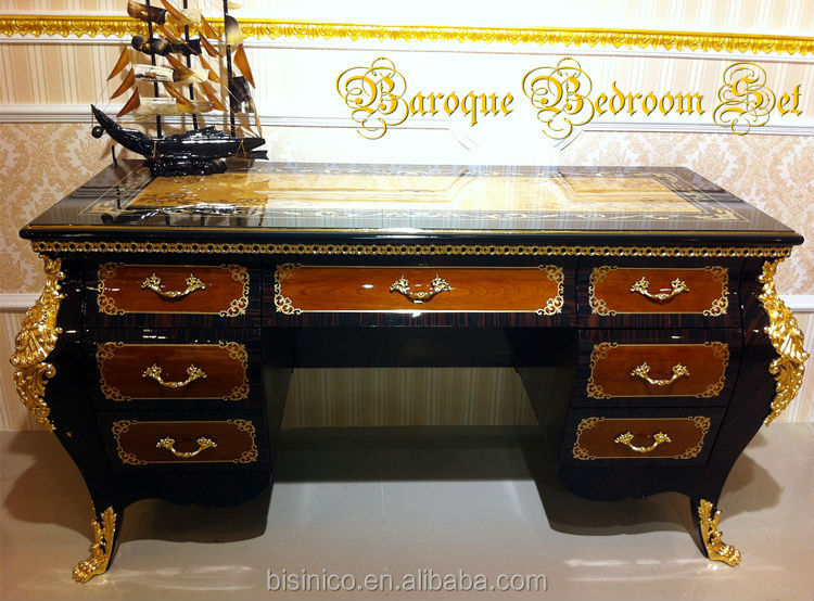 Bisini Baroque Collection Luxury Antique Gilded 4 Door