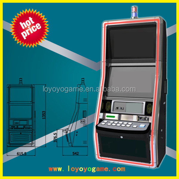 new design slot casion bingo game machine jammer top light metal cabinet LEJM-22