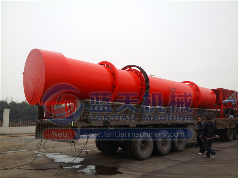 Professional manufacturer reasonable price flour rotary drum dryer biomass rotary dryer