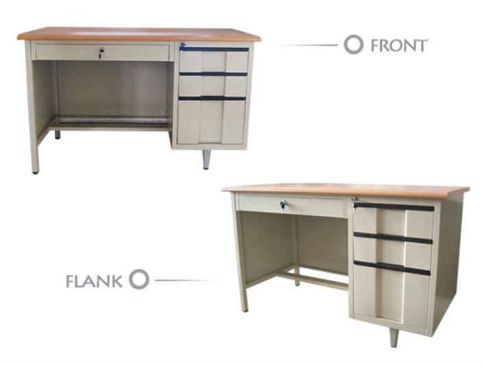 Stainless Full Metal Wood Computer Table Models - Buy Wood ...