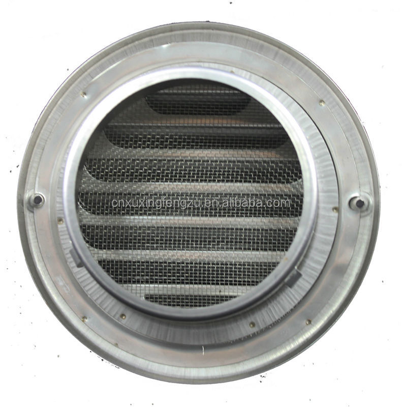 Stainless Steel Air Grille : Wall stainless steel air vent cap louvred grille buy