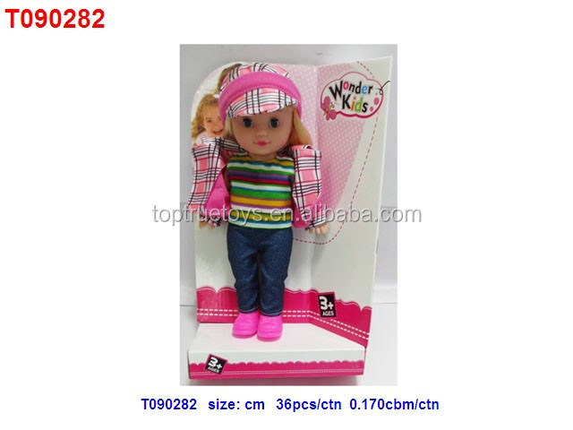 Lovely 2pcs Girl Doll