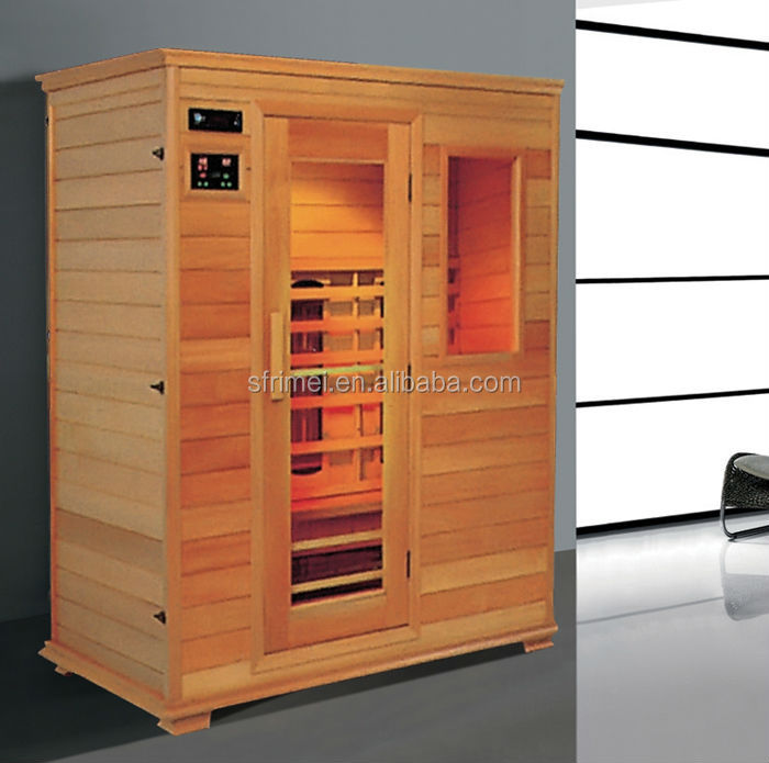 K-7130 Home Comfort Solid Wood Infrared Sauna Room Dry Sauna
