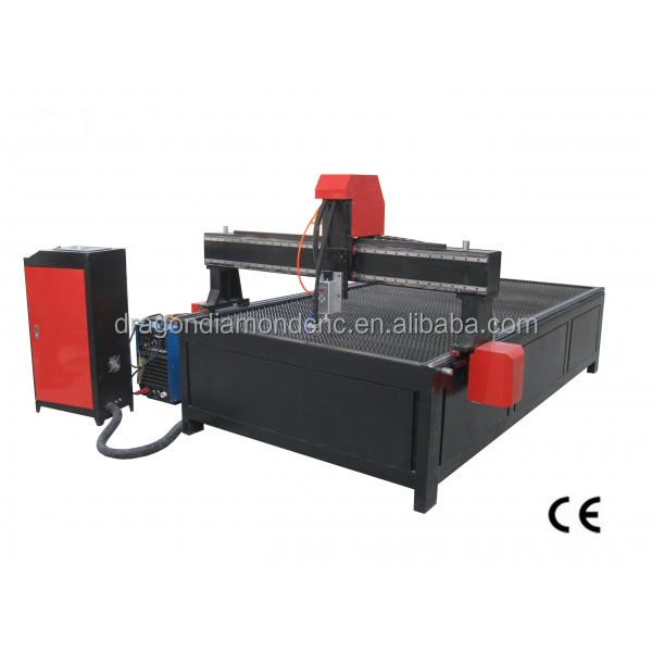 China CNC plasma metal cutting machine with CNC plasma cutter LZ-1325 stainless steel/aluminium cnc plasma cutter machine
