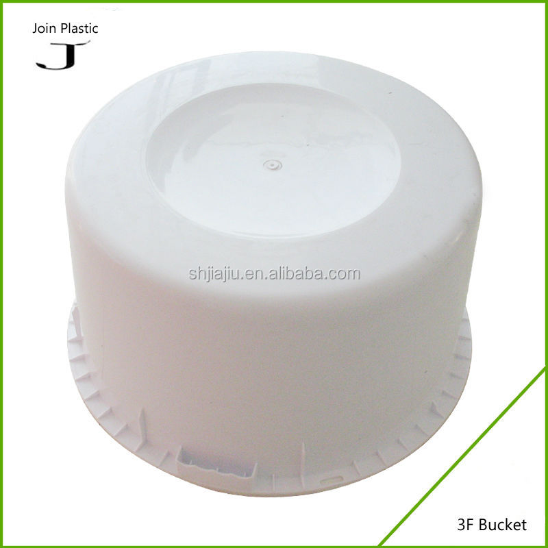 Small plastic fishing buckets with lids plastic water tank