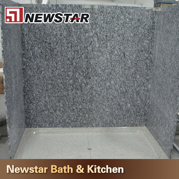G682 yellow rusty granite tub surround