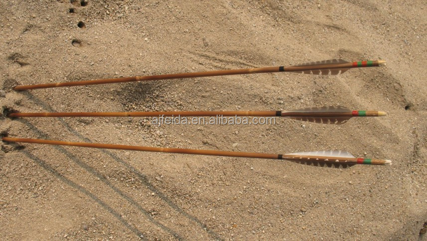 how to make a bamboo bow and arrow