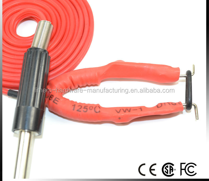 New Professional wholesales RED color Long Clip Cord For Tattoo Machine tattoo gun
