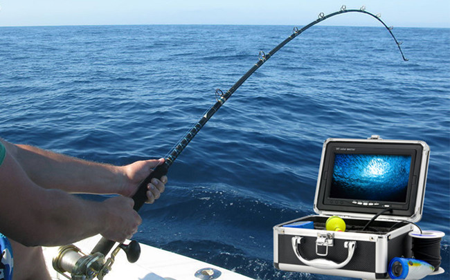 7 inch LCD Underwater Video Camera System