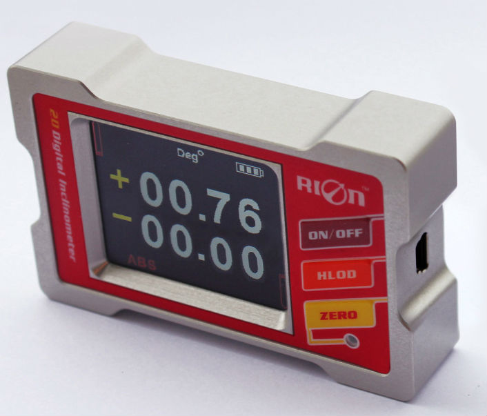Dual Axis Tilt Sensor Readout Digital Display Angle Monitor