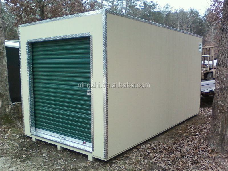 storage container 8 x 16 almond - green.jpg & Flat Pack Storage Container - Buy Storage ContainerWarehouse ...