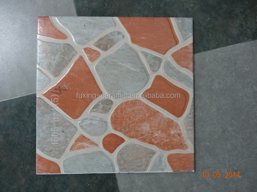 New products 400x400 500x500 red body ceramic floor tile