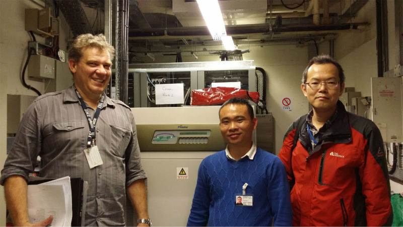 UPS Solutions Applied In HK International Airport Automated People Mover (40KVA/32KW/online ups)