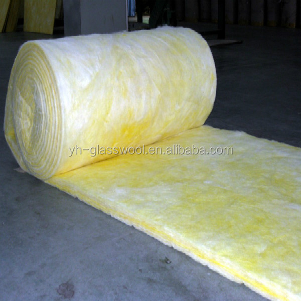 Insulation fiberglass wool with alum foil facing glass for Fiberglass wool insulation