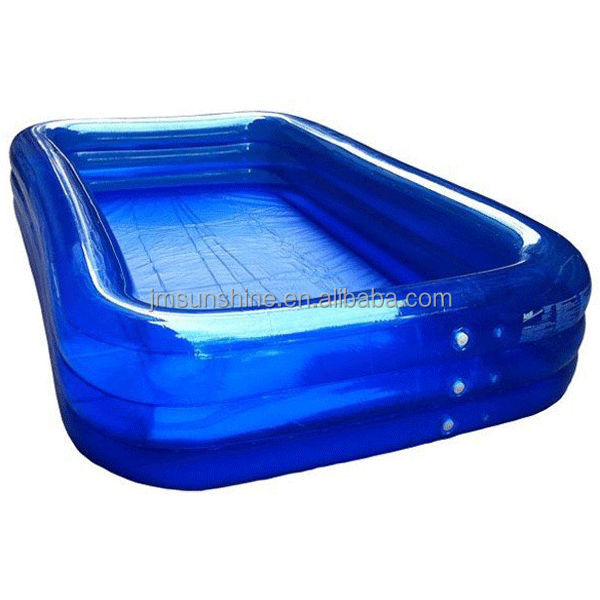 Large inflatable pool , Inflatable rectangular pool