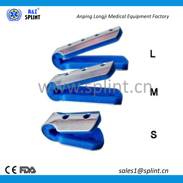 environment friendly aluminum finger splint