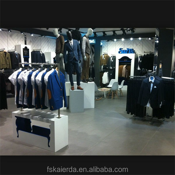 clothes store fashion decoration stand