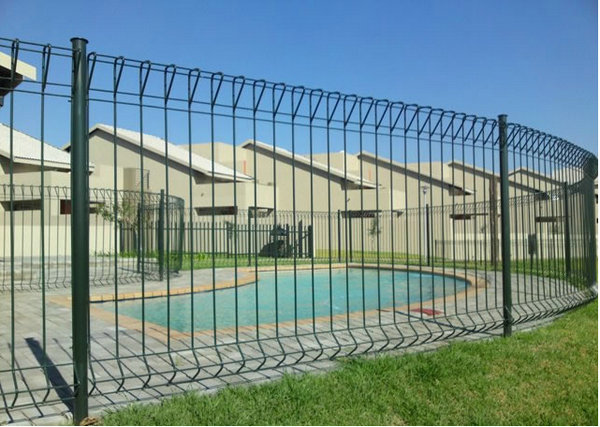 High quality roll top fence for playground ce sgs iso bv