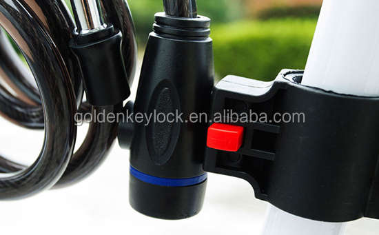 Hot-sale Bike Lock anti-theft Steel Cable Lock, protect bike/bicycle/children bike