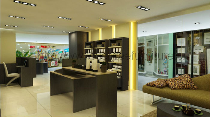 Unique Modern Retail Cosmetic Shop Showroom Interior