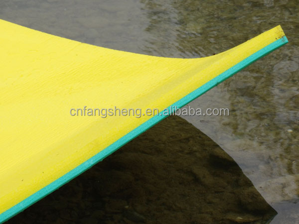 high durable XPE 350*150cm water floating beach mat swimming inflatable leisure and recreation on holiday water mattresses