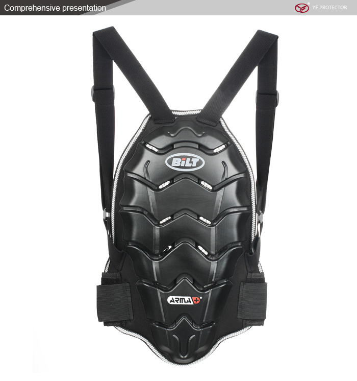 Motorcycle Body Back Armor Protective Jacket Gear