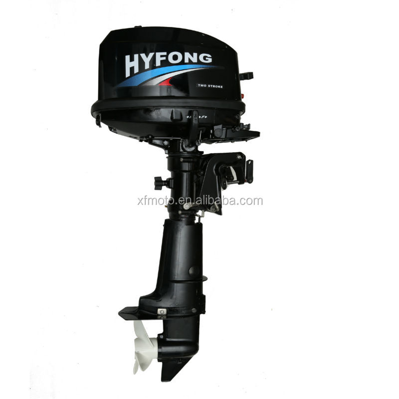 6hp two stroke heavy duty boat engine water cooling for 6hp outboard motor electric start