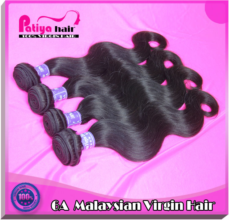 Most popular body wave virgin hair without processed cheap price grade 6a virgin Malaysian hair