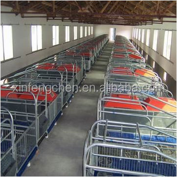 Galvanized high quality sow obstetric table