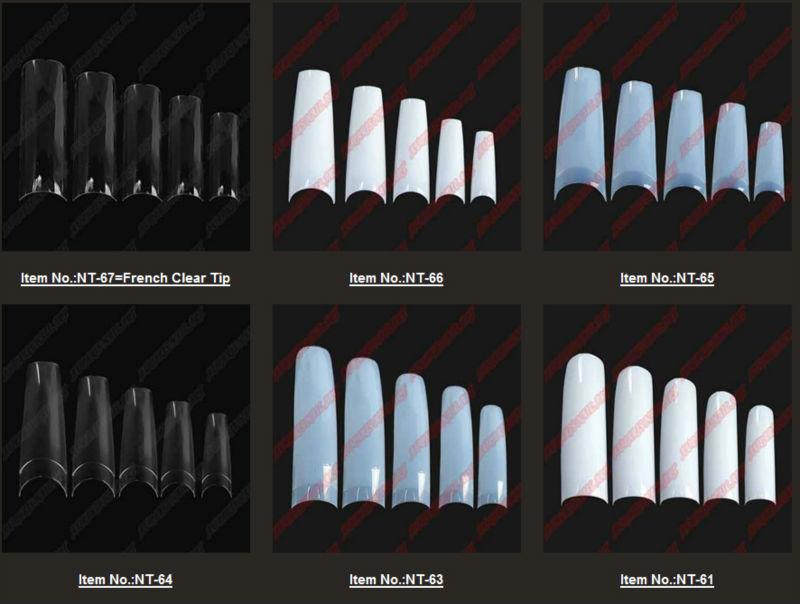 Whitenature stiletto square beauty nail tips clear glaze nail whitenature stiletto square beauty nail tips clear glaze nail tipsglaze nail prinsesfo Images