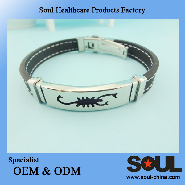 charm high-grade women bracelet silicon energy bracelet