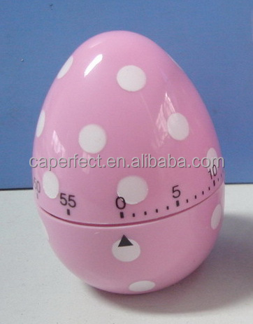 Hangzhou mechanical kitchen stainless steel egg timer