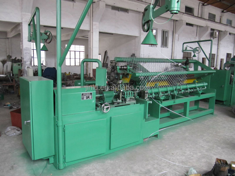 Servo Motor Chain Link Fence Machine for 80x80mm Mesh