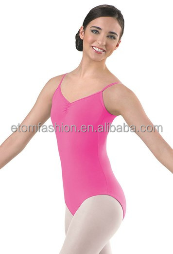 Child Pinch-Front Cotton Leotards DL1610